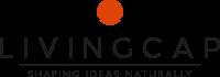 Logo Livingcap gen C+payoff